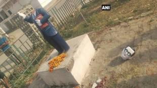 BR Ambedkar, Bhimarao Ambedkar statue vandalised, vandalism in india, statue vandalism, change of ambedkar's name, india news, up news, violence, dalit violence