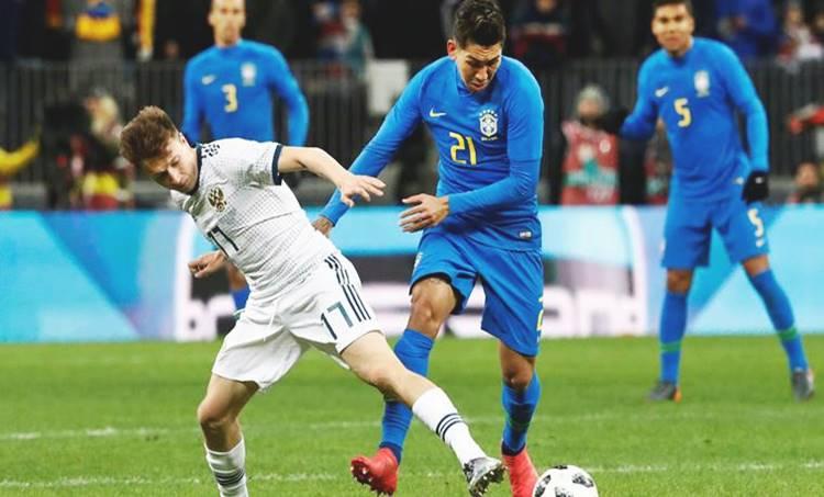 brazil vs russia, world cup, world cup friendlies, football friendly, neymar, football news, sports news, indian express