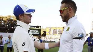 Faf du Plessis, du plessis south africa, south africa vs australia, sa vs aus, Australia, South Africa national cricket team, Cricket, S. Smith, indian express news