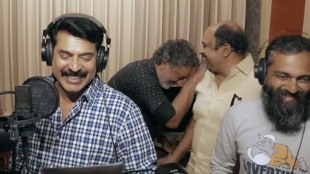 Mammooty singing in Uncle