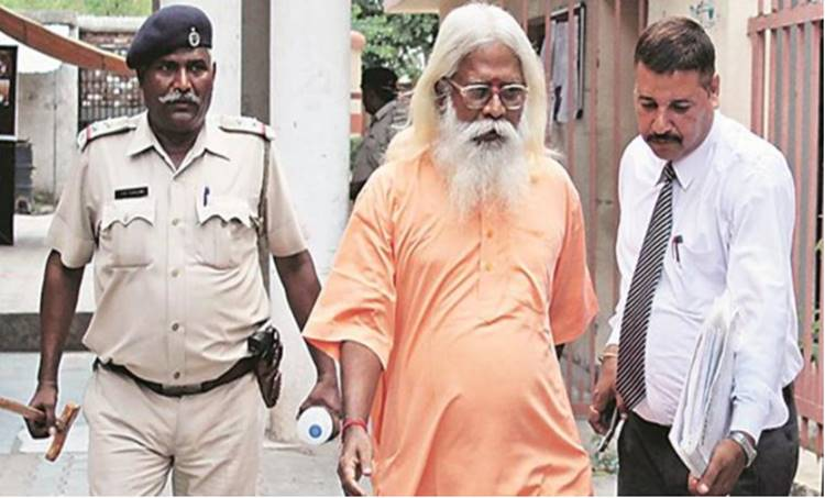 Mecca Masjid blast verdict Swami Aseemanand, one of the ten accused, is out on bail (File)