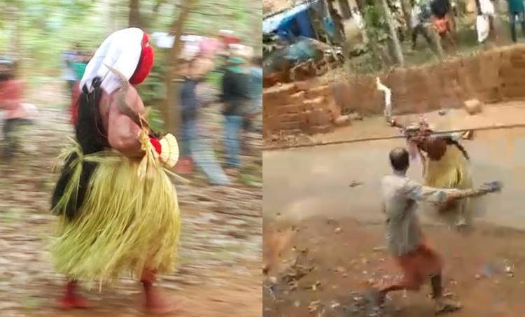Kerala Theyyam, Ritual Forms Kerala, Theyyam Kerala, Kerala Theyyam, കേരള തെയ്യം, പരമ്പരാഗത ആഘോഷം, കേരളത്തിലെ ആചാരങ്ങൾ