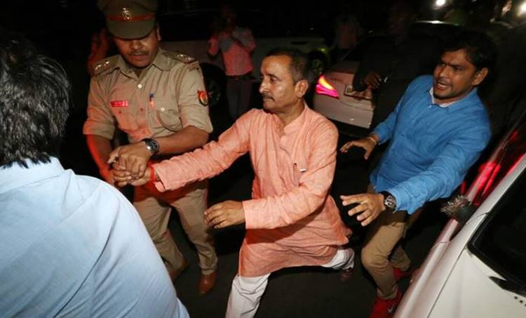 Unnao rape case, kuldeep singh sengar, BJP MLA arrested, kuldeep singh sengar arrested, Unnao rape, bjp Unnao rape case, unnao mla rape cbi, uttar pradesh, utar pradesh, yogi adityanath, bharatiya janata party, indian express