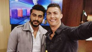 Arjun Kapoor, Cristiano Ronaldo