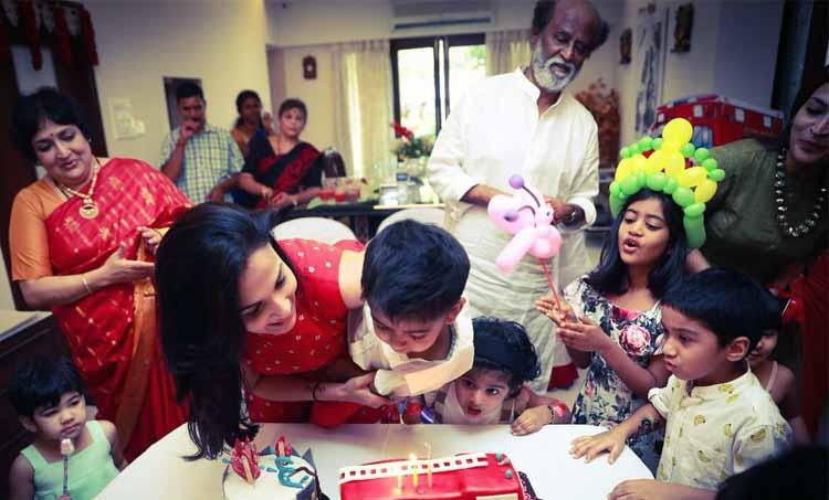 Rajnikanth Grandson Brithday Featured
