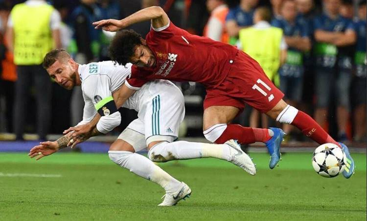 Sergio Ramos, Muhammad Salah, Liverpool, Real Madrid, Champions League Final