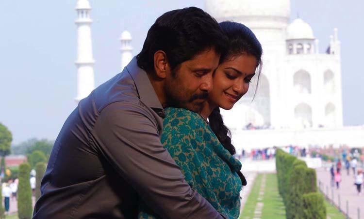 Vikram and Keerthy Suresh in Saamy 2