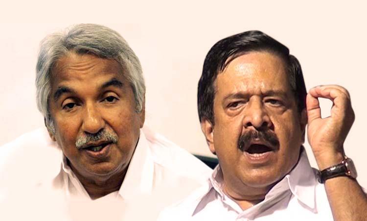 oommen chandy, ramesh chennithala, chengannur election