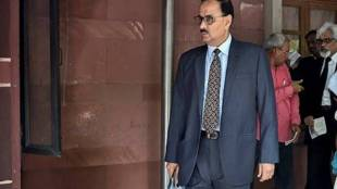 Central Bureau of Investigation Chief Alok Verma arrives at Supreme Court in connection with the Manipur fake encounter case in New Delhi on Monday PTI