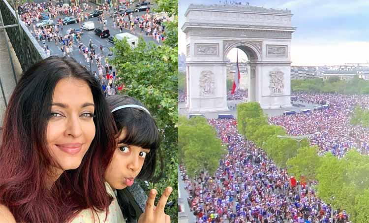 FIFA World Cup Aishwarya Rai at Paris