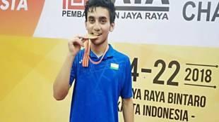 Lakshya Sen wins the gold medal at Junior Asian Championships BAI Twitter