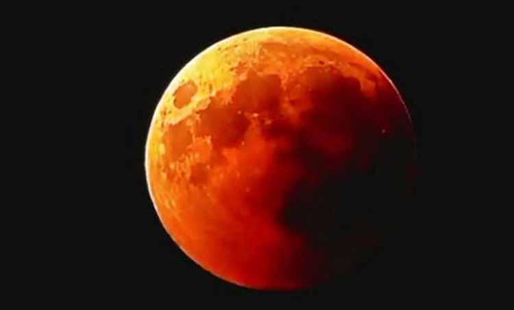 Lunar Eclipse Nehru Planetariam