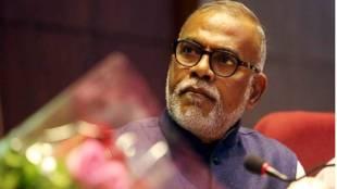 Nominated Rajya Sabha MP Narendra Jadhav Express Photo Ganesh Shirsekar File
