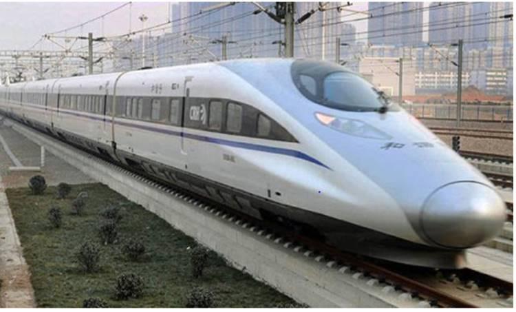 Representational image of a bullet train