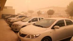 dust storm in saudi