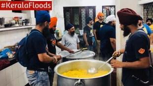 Kerala Floods Sikh Langar