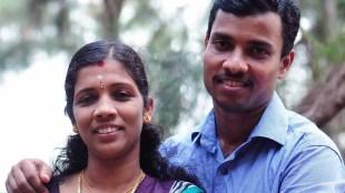 Kerala Rains Nurse Lini husband Sajeesh donates one month salary to CM Flood Relief fund