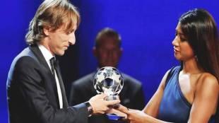 Luka Modric, Luka Modric UEFA, Luka Modric best player, Luka Modric UEFA player of the year, Modric Real Madrid, football news, indian express