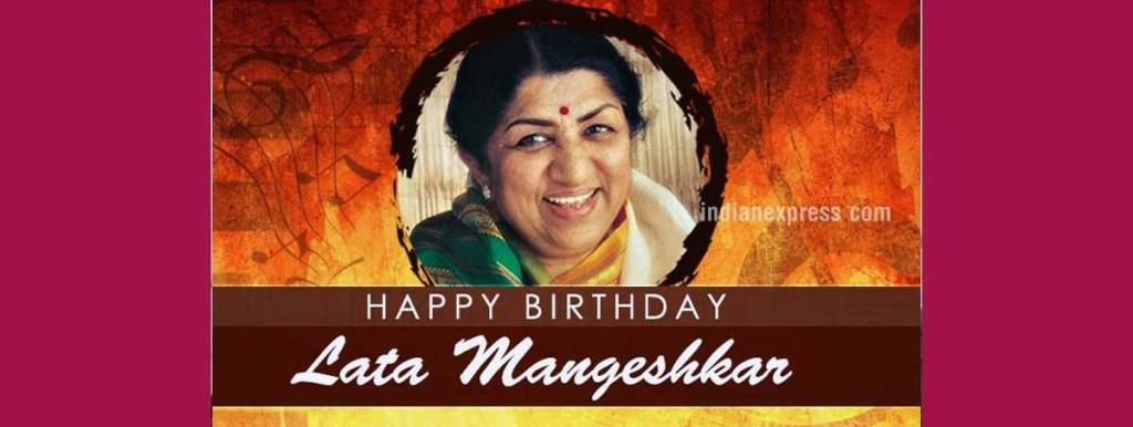 Lata Mangeshkar Songs Career 85th Birthday amp