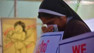 Manju Warrier comes in support of Kerala Nun Protest against delay in arresting Jalandhar Bishop