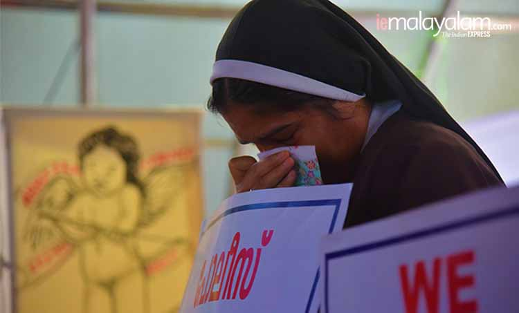 Manju Warrier comes in support of Kerala Nun Protest against delay in arresting Jalandhar Bishop