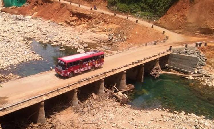 cheruthoni bridge after flood