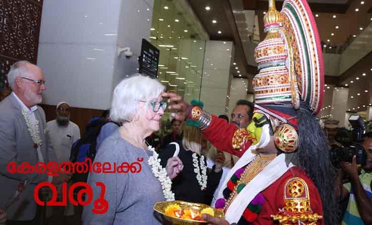 tourists return to kerala after floods, chartered flights