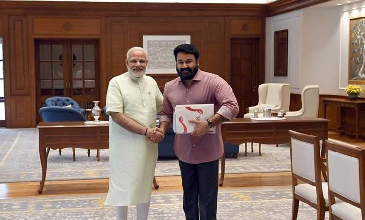 Mohanlal, Narendra modi, lok sabha election 2019, iemalayalam