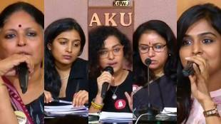wcc press meet,revathi, padmapriya, parvathi,