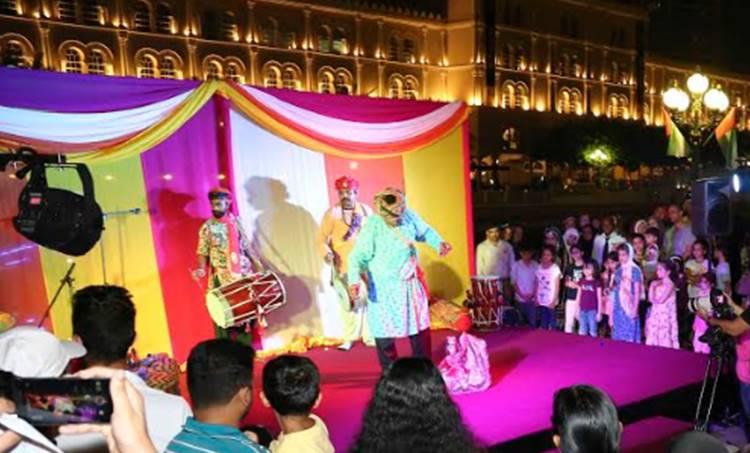 indian night at sharjah