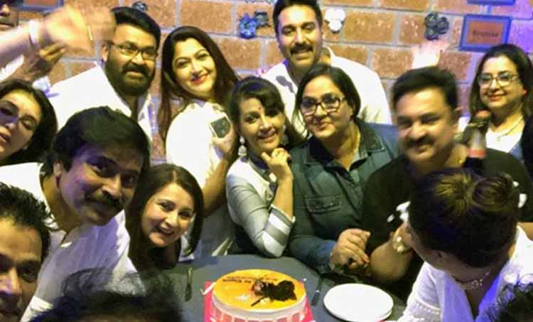 80s reunion mohanlal pictures