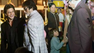 AbRam thinks Amitabh Bachchan is Shahrukh Khans father