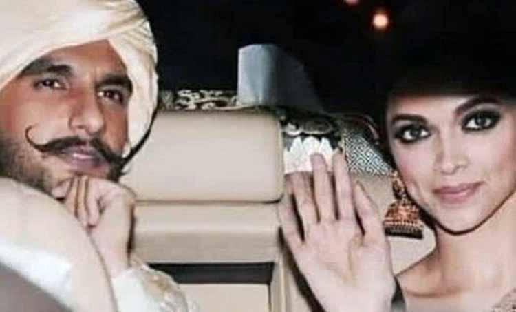 Deepika Padukone Ranveer Singh Wedding Mehendi Photo