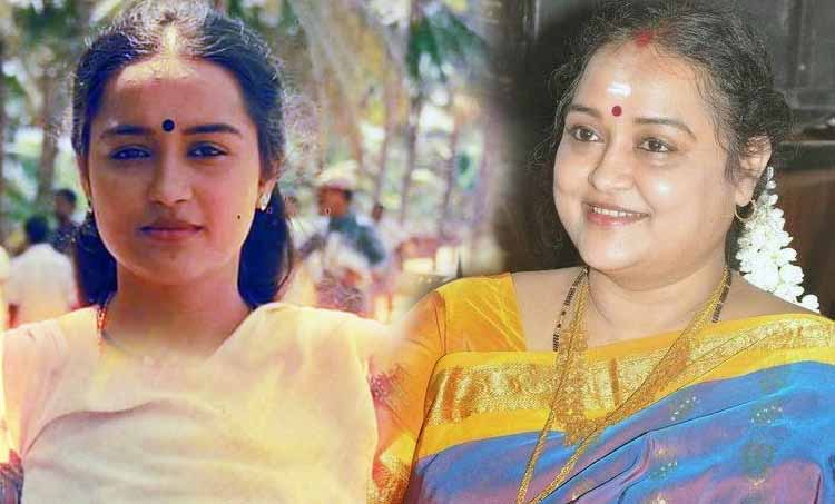 Yesteryear Actress Chithra opens up on marriage life and films