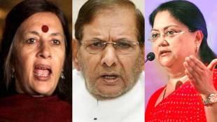 rajasthan elections, vasundhara raje, brinda karat, Rajasthan, BJP, Janata Dal united, ബൃന്ദ കാരാട്ട്, വസുന്ധര രാജ സിന്ധ്യ, രാജസ്ഥാൻ തിരഞ്ഞെടുപ്പ്, ശരത് യാദവ്, india news, indian express