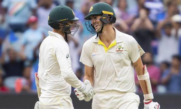pat cummins, pat cummins boundary, pat cummins fifty, pat cummins wicket, cummins wickets, cummins fifty, india vs australia, ind vs aus, india vs australia 3rd test, ind vs aus 3rd test, cricket news, indian express