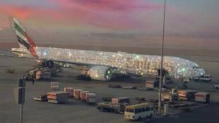 Diamond flight, viral photo, emirates, ie malayalam, ഡയമണ്ട് വിമാനം, വൈറൽ ഫോട്ടോ, ഐഇ മലയാളം