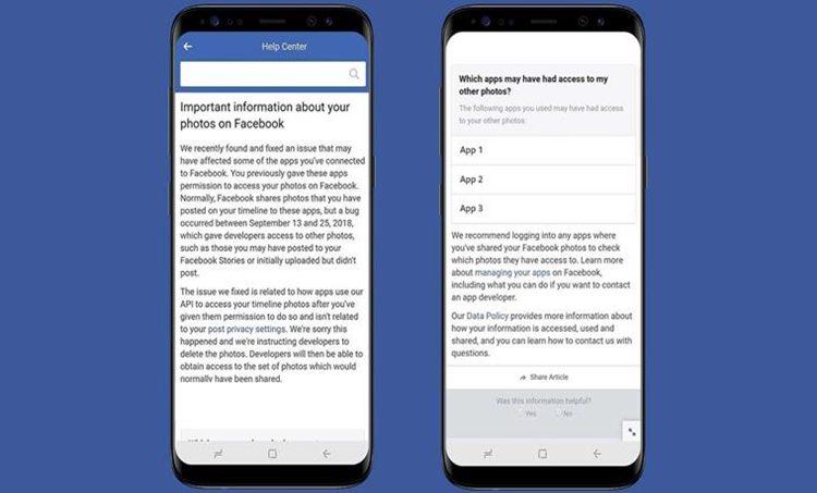 Facebook, Facebook data breach, Facebook photo bug, Facebook photos exposed, Facebook bug,ഫെയ്സ്ബുക്ക്, സ്വകാര്യത, ഫോട്ടോ, Facebook privacy,ഫെയ്സ്ബുക്ക്, സുരക്ഷ Facebook privacy scandal, Facebook news, ഐഇ മലയാളം