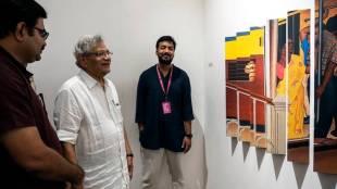 Sitaram Yechury, Biennale