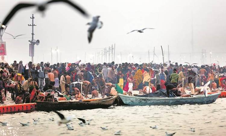 Kumbh mela, Kumbh Mela 2019, Kumbh Mela preparation, Kumbh Mela days, Prayagraj, Triveni Sangam, Yogi Adityanath, Uttar Pradesh
