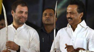 Rahul Gandhi and MK Stalin, Congress, DMK