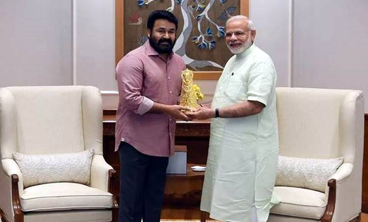 Mohanlal, Narendra Modi