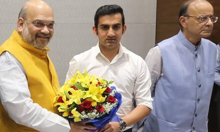 gautam gambhir, gautam gambhir east delhi, gautam gambhir lok sabha elections, gautam gambhir news, lok sabha elections, meenakshi lekhi