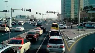 Sharjah Traffic Violation