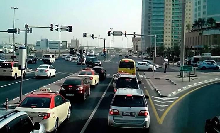 Sharjah Traffic Violation