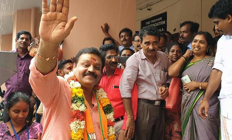 Suresh Gopi, Thrissur