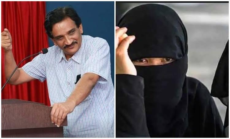 Fazal Gafoor, Threat, MES, Burqa