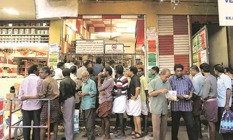 liquor sales, Record liquor sales Kerala