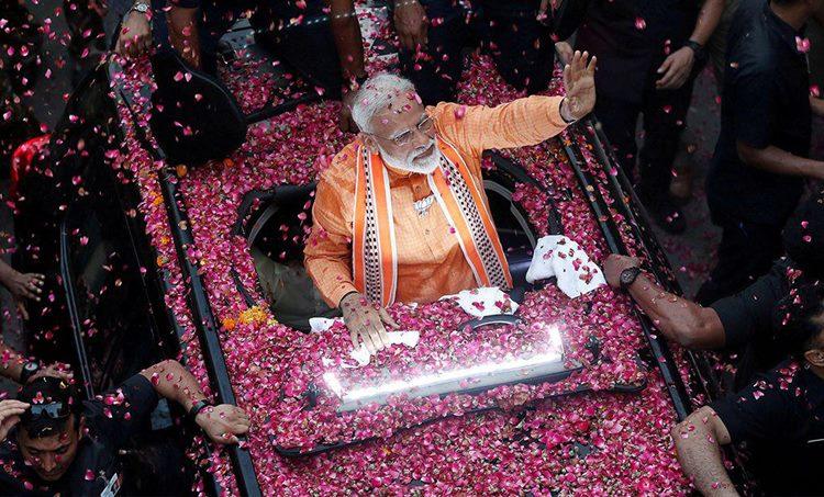 Narendra Modi, നരേന്ദ്രമോദി, Oath Taking ceremony, സത്യപ്രതിജ്ഞാ ചടങ്ങ്, BJP, ബിജെപി, Lok Sabha Election 2019, ലോക്സഭാ തിരഞ്ഞെടുപ്പ് 2019, Raj Bhavan, രാജ്ഭവന്, ie malayalam