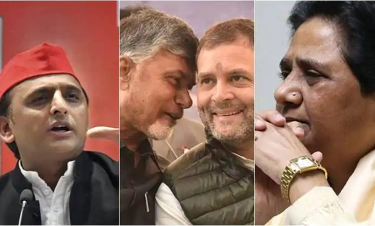 Lok Sabha Election 2019, ലോക്സഭാ തിരഞ്ഞെടുപ്പ് 2019 Chandrababu Naidu, ചന്ദ്രബാബു നായിഡു Rahul Gandhi, രാഹുല് ഗാന്ധി Mayawati, മായാവതി Akhilesh Yadhav, BJP, ie malayalam ഐഇ മലയാളം